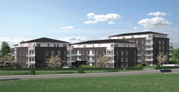 In Kaltenkirchen bei Hamburg enstehen attraktive Eigentumswohnungen als Kapitalanlage