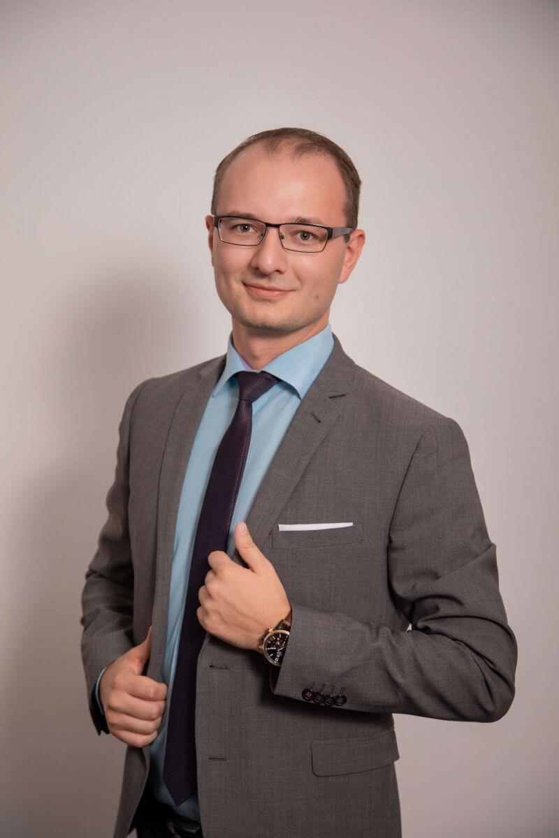 Artur Knitel vom Team der DFK Süd in Ingolstadt