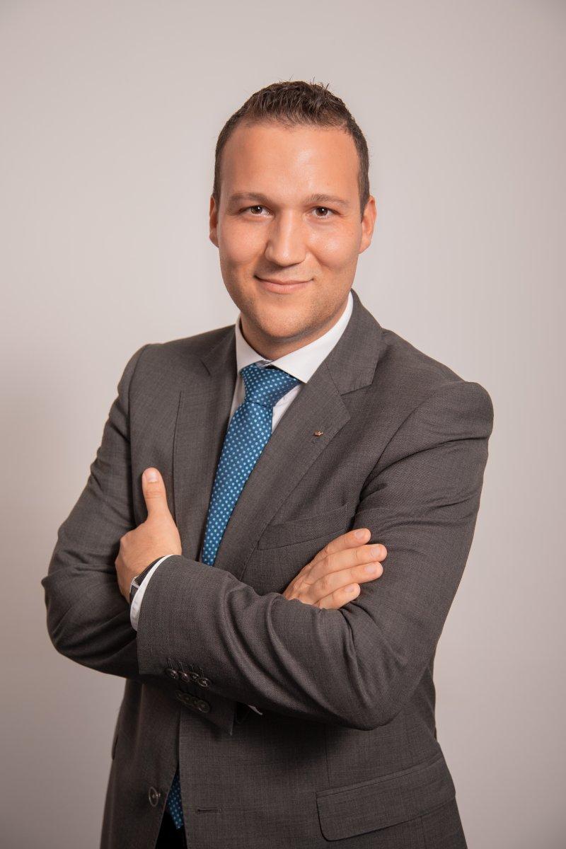 Andrei Sarasan vom Team der DFK Süd in Ingolstadt